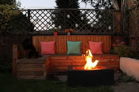 Firepits Co Uk Garden Pit With Pallet Seating Diy Www Kezzabeth Co Uk