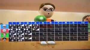 wii sports bowling p2 youtube