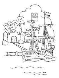 pirate coloring printables pirate ship coloring