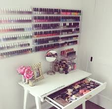 the 66 best images about makeup and nailpolish organizers on