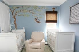 store chambre bébé design interieur chambre bébé jumeaux garçons peinture bleu pastel