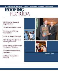 Danforth Roofing Supplies by Roofing Florida U2013 August 2014 By Florida Roofing Magazine Issuu