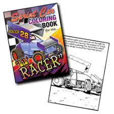 lil racer coloring books rife u0027s racing collectibles