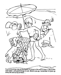 earth day coloring pages free printable beach environmental