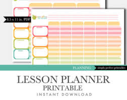 printable homeschool lesson plan template teacher diary printable 56 teacher plan book template word printable