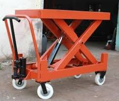 Hydraulic Scissor Lift Table by Hydraulic Scissor Lift Table Manufacturer From Ahmedabad