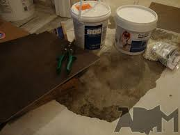 Vinyl Tile Installation Guest Bathroom Remodel Creating Sink Base With 2x4 U0027s And