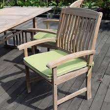 Teak Patio Dining Set - cambridge casual monterey teak 7 piece patio conversation set