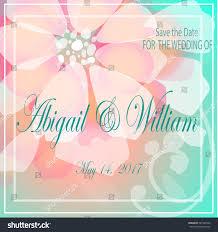 Wedding Invitation Greeting Cards Save Date Invite Greeting Card Wedding Stock Vector 527346526