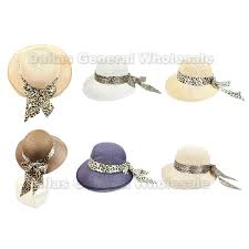 ribbons wholesale straw sun hats with ribbons wholesale