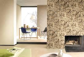 Wohnzimmer Design Mit Stein Tapeten Wohnzimmer Ideen Haus Design Ideen Eine Gelbe Tapete Im
