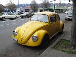 volkswagen beetle yellow yellow vws in portland