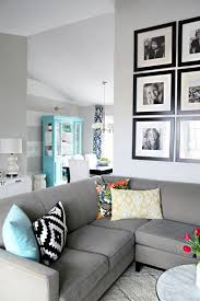 Gray Sofa In Living Room 3 Simple Ways To Style Cushions On A Sectional Or Sofa Tossed