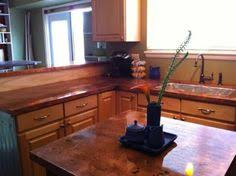 Copper Kitchen Countertops Copper Countertops Martine Louise Copper And Metal Ideas Inside