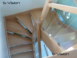 Glass Stair Banisters S Vision On A Staircase New Home Ideas Pinterest Staircases