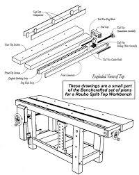 22 excellent woodworking bench plans roubo egorlin com
