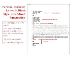 Business Letter Return Address business letters cover letters and mailing labels ppt