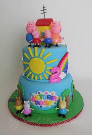 peppa pig birthday cakes my sweet fancy cakes peppa pig cake