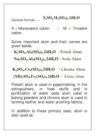 alum photo chemistry project on preparation of potash alum