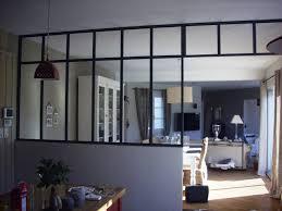 separation de cuisine en verre get green design de maison