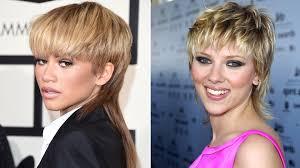 celebrity mullet hair zendaya lady gaga george clooney and more