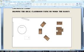 a two minute task drawing the ideal classroom using ms word youtube a two minute task drawing the ideal classroom using ms word