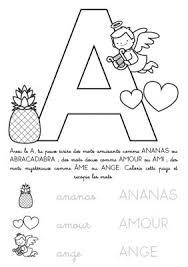 Coloriage à imprimer  Alphabet Lettre A