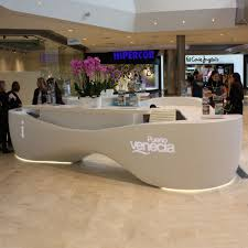 Mobile Reception Desk by Reception Counter Love This Circular Lit Soffit Above This