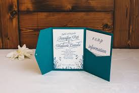 pocket invitation kits teal wedding invitations kits wedding pocket invitations the