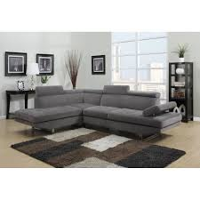 canap d angle gauche pas cher canapé d angle design tissu rubic gris gauche achat vente