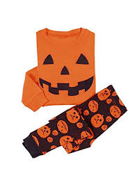 little boys u0027 halloween pumpkin two piece pajama set https www