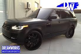 wrapped range rover wesley mathew u0027s range rover u2014 dreamworks motorsports