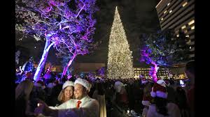 Christmas Tree Lighting Photo Gallery South Coast Plaza U0027s 36th Annual Tree Lighting