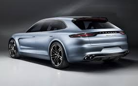 the new lexus lf gh porsche panamera sport turismo concept first look automobile