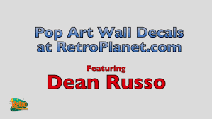 decorate with dean russo pop art wall decals from retroplanet com