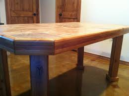 Build Your Own Octagon Picnic Table by Oneofakind Octagon Dining Alluring Octagon Kitchen Table Home