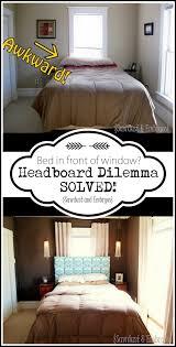 headboard over window window walls and room