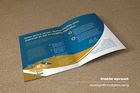 free indesign brochure templates download free bifold booklet