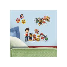 roommates paw patrol peel and stick wall decal paw patrol peel and stick wall decal