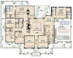floor plans for large homes house large kitchen house plans