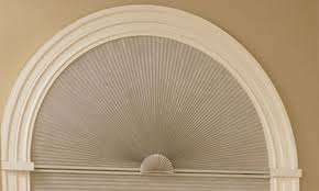 Circle Window Blinds Perfect Half Arch Shades Blindsshopper Com