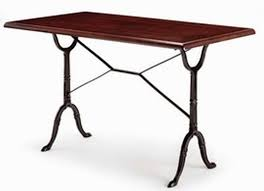 Rectangular Bistro Table Rectangular Bistro Table Cast Iron Tables By Trent Furniture