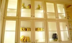 glass door kitchen cabinet lighting 6 types of kitchen accent lighting lighting tutor