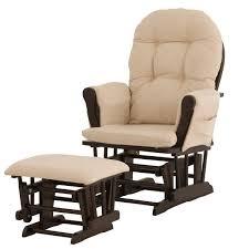 Chair Ottoman Sets Espresso Rocking Chair Nursery Concept Home U0026 Interior Design