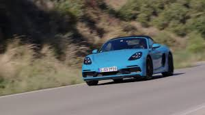 miami blue porsche boxster porsche 718 boxster gts driving video in miami blue youtube