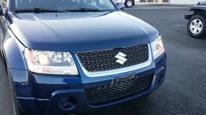 2009 suzuki grand vitara xl 25556 km 5 speed manual clean vehicle