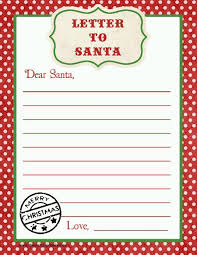 free letters templates 20 free printable letters to santa templates free printable
