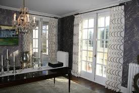 Patterned Curtains And Drapes Bridge Custom Drapes Curtains Shades And Window Treatments