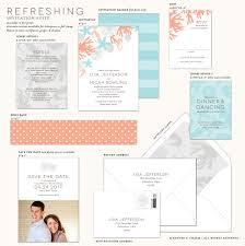 refreshing destination beach wedding invitations banter and charm