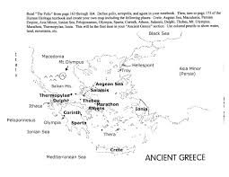 Ancient Greece Map Activity by Ancient Greece Map Labeled Pictures To Pin On Pinterest Pinsdaddy